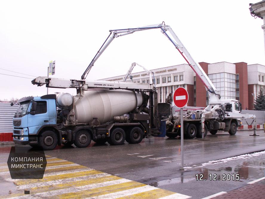 Бетон Рязань, транспортёр для бетона, бетононасос