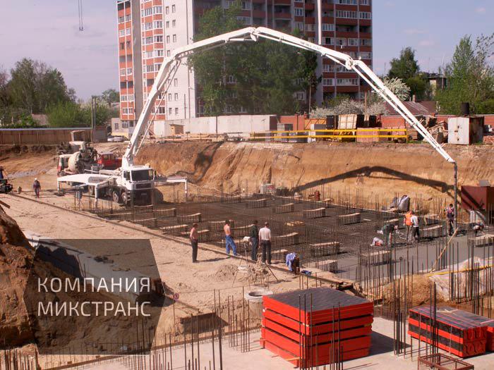 Продажа и доставка бетона в Рязани по оптимальной стоимости