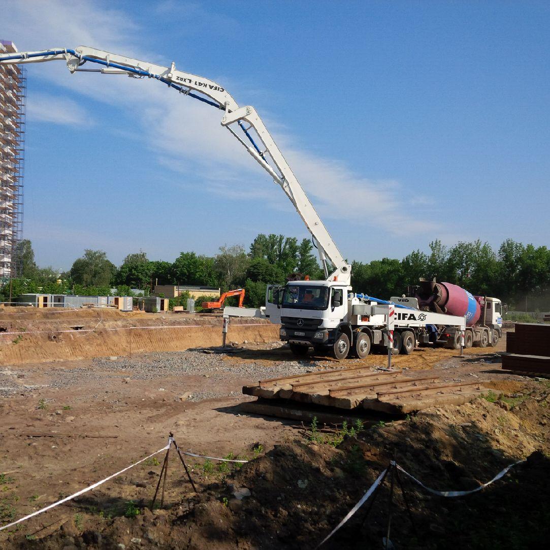 Аренда бетононасоса в Рязани